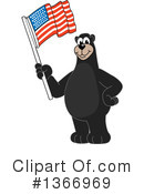 Black Bear School Mascot Clipart #1366969 by Toons4Biz