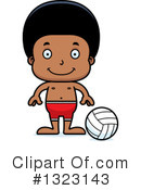 Black Boy Clipart #1323143 by Cory Thoman