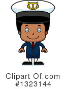 Black Boy Clipart #1323144 by Cory Thoman