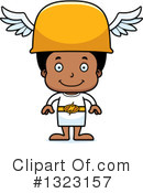 Black Boy Clipart #1323157 by Cory Thoman