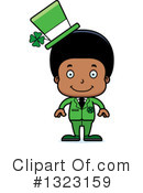 Black Boy Clipart #1323159 by Cory Thoman