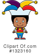 Black Boy Clipart #1323160 by Cory Thoman