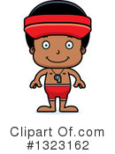 Black Boy Clipart #1323162 by Cory Thoman