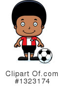 Black Boy Clipart #1323174 by Cory Thoman