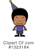 Black Boy Clipart #1323184 by Cory Thoman