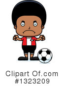 Black Boy Clipart #1323209 by Cory Thoman