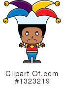 Black Boy Clipart #1323219 by Cory Thoman