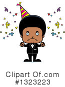 Black Boy Clipart #1323223 by Cory Thoman