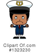 Black Boy Clipart #1323230 by Cory Thoman