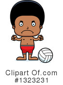 Black Boy Clipart #1323231 by Cory Thoman