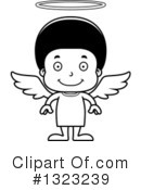 Black Boy Clipart #1323239 by Cory Thoman