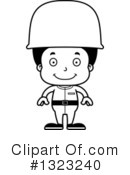 Black Boy Clipart #1323240 by Cory Thoman