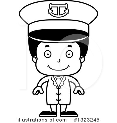 Royalty-Free (RF) Black Boy Clipart Illustration by Cory Thoman - Stock Sample #1323245