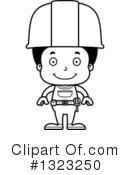 Black Boy Clipart #1323250 by Cory Thoman