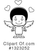 Black Boy Clipart #1323252 by Cory Thoman