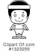 Black Boy Clipart #1323256 by Cory Thoman