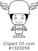 Black Boy Clipart #1323258 by Cory Thoman