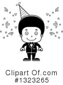 Black Boy Clipart #1323265 by Cory Thoman