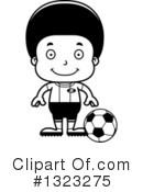 Black Boy Clipart #1323275 by Cory Thoman