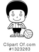 Black Boy Clipart #1323283 by Cory Thoman