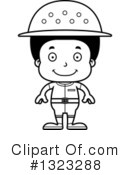 Black Boy Clipart #1323288 by Cory Thoman