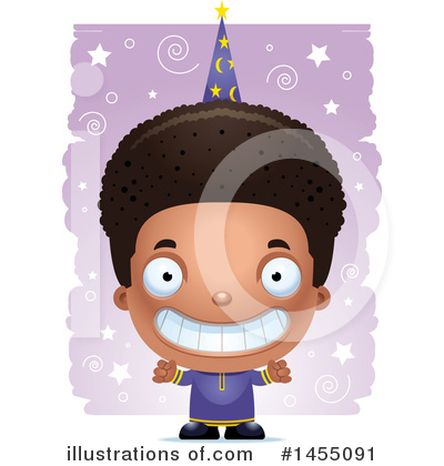 Royalty-Free (RF) Black Boy Clipart Illustration by Cory Thoman - Stock Sample #1455091