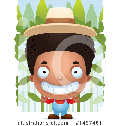 Royalty-Free (RF) Black Boy Clipart Illustration by Cory Thoman - Stock Sample #1457461