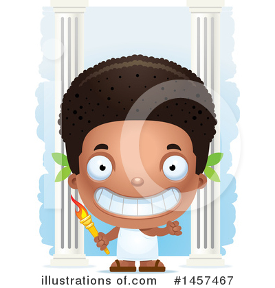 Royalty-Free (RF) Black Boy Clipart Illustration by Cory Thoman - Stock Sample #1457467