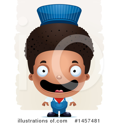 Train Engineer Clipart #1457481 by Cory Thoman