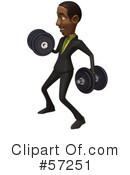 Black Businessman Character Clipart #57251 by Julos