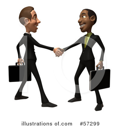 White Businessman Character Clipart #57299 by Julos