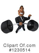 Black Businessman Clipart #1230514 by Julos