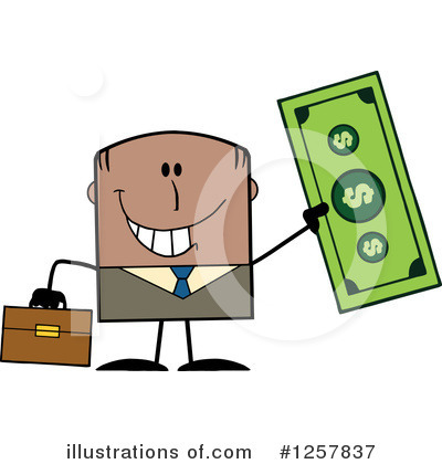 Dollar Clipart #1257837 by Hit Toon