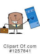 Black Businessman Clipart #1257841