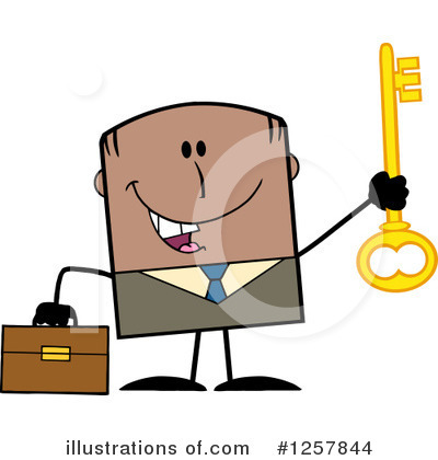Businessman Clipart #1257844 by Hit Toon