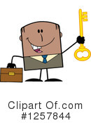 Royalty-Free (RF) Black Businessman Clipart Illustration #1257844