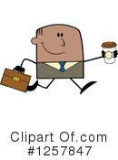 Black Businessman Clipart #1257847 by Hit Toon