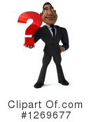 Black Businessman Clipart #1269677 by Julos