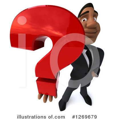 Black Businessman Clipart #1269679 by Julos