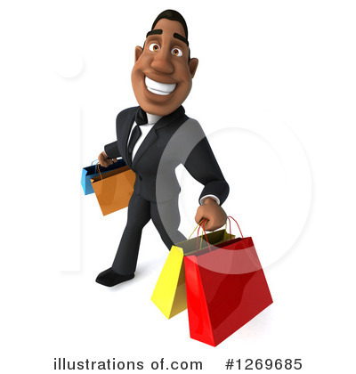 Shopping Bag Clipart #1269685 by Julos