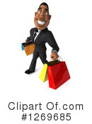 Black Businessman Clipart #1269685 by Julos