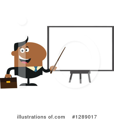 Businessman Clipart #1289017 by Hit Toon