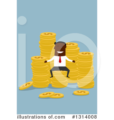 Wealthy Clipart #1314008 by Vector Tradition SM