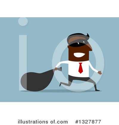 Robber Clipart #1327877 by Vector Tradition SM