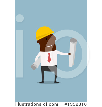Builder Clipart #1352316 by Vector Tradition SM