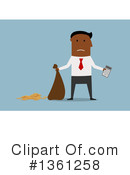 Royalty-Free (RF) Black Businessman Clipart Illustration #1361258