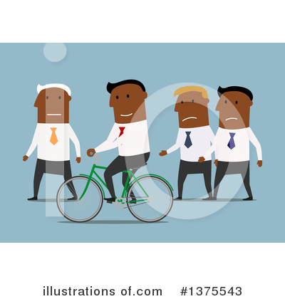 Black Businessman Clipart #1375543 by Vector Tradition SM