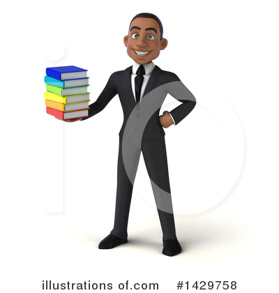 Young Black Businessman Clipart #1429758 by Julos