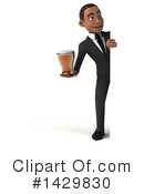 Black Businessman Clipart #1429830 by Julos