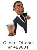 Black Businessman Clipart #1429831 by Julos